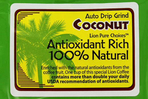Lion Antioxidant Rich