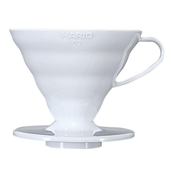 ハリオ V60 透過 ドリッパー 02 (ホワイト) PP製 VD-02W コーヒー通販サイト 珈琲問屋オンラインストア