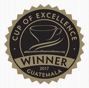 グアテマラ COE2017 ウィナーマーク