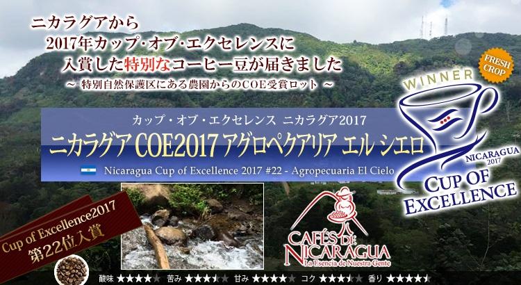 ニカラグア COE2017 #22 アグロペクアリア エル シエロ - Nicaragua Cup of Excellence 2017 #22 Agropecuaria El Cielo