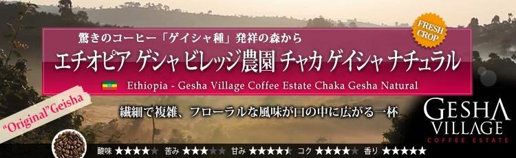 オリジナルゲイシャ(原種GESHA)が入荷!限定品 エチオピア ゲシャ ビレッジ農園 ゲイシャ ナチュラル - Ethiopia Gesha Village Coffee Estate Gesha Natural