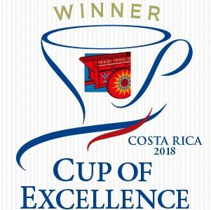 コスタリカ COE2018 ウィナーマーク