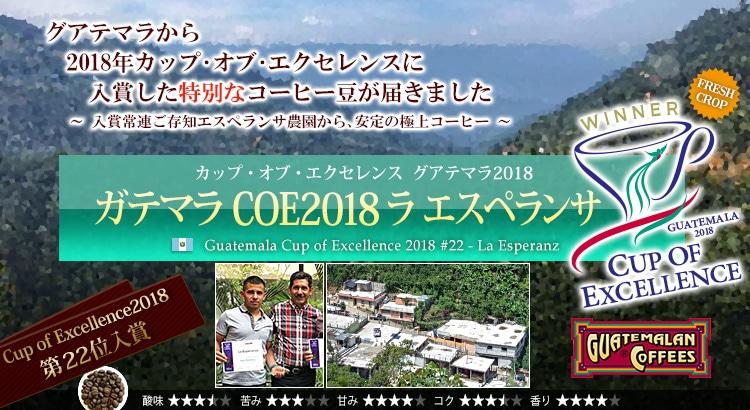 ガテマラ COE2018 ラ エスペランサ - Guatemala Cup of Excellence 2018 #22 La Esperanza