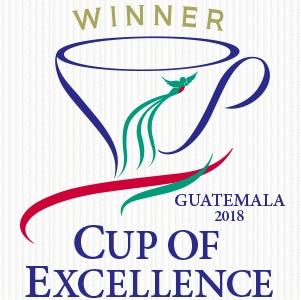 ガテマラ COE2018 ウィナーマーク