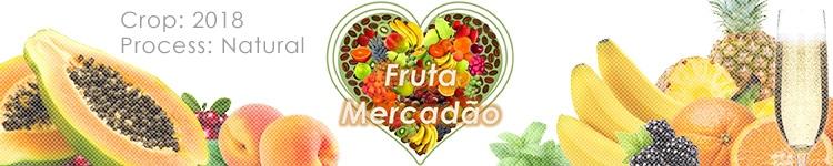 ブラジル フルッタ メルカダオ ナチュラルのカッピングイメージ