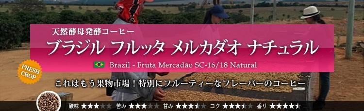ブラジル フルッタ メルカダオ ナチュラル - Brazil Fruta Mercadao SC-16/18 Natural