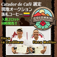 第1回『ナショナル・クオリティコンテスト - 多様性の土地、コロンビア』入賞ロット