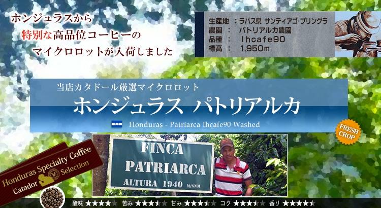 ホンジュラス パトリアルカ Ihcafe90 - Honduras Patriarca Ihcafe90 Washed
