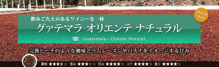 グァテマラ オリエンテ ナチュラル - Guatemala Oriente Natural