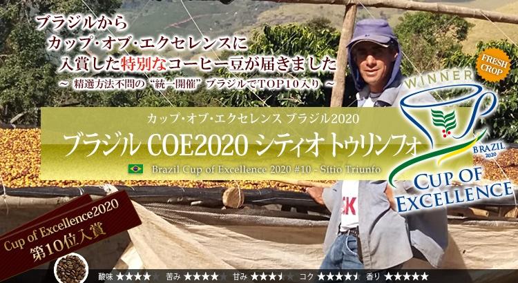 ブラジル COE2020 シティオ トゥリンフォ - Brazil Cup of Excellence 2020 #10 Stio Triunfo