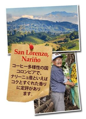 コロンビア ナリーニョ サン ロレンソについて