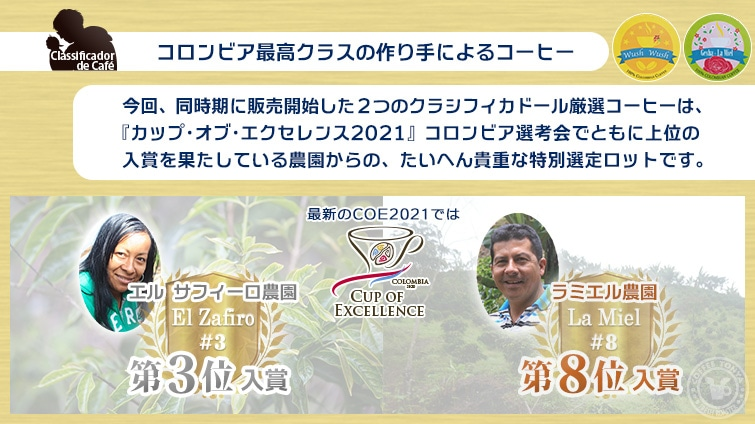 COEコロンビア2020入賞歴